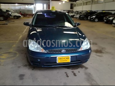 Foto venta Auto Usado Ford Focus Ambiente 1.6 5p (2005) color Verde precio $153.000