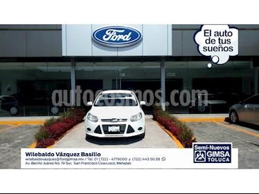 Foto venta Auto Usado Ford Focus S 4-ptas MT (2014) color Blanco precio $132,000