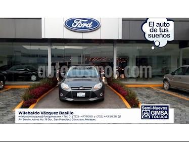 Foto venta Auto Usado Ford Focus SE 4-ptas AT (2012) color Gris precio $122,000