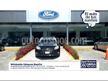 Foto venta Auto Usado Ford Focus SE 4-ptas MT (2013) color Negro precio $139,000