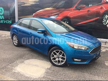 Foto venta Auto Usado Ford Focus SE Appearance - 4pts (2015) color Azul precio $195,000