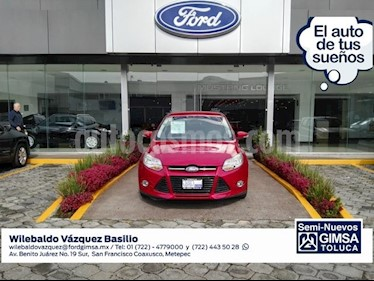 Foto venta Auto Usado Ford Focus Sedan SEL 5-ptas (2012) color Rojo precio $138,000