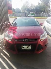 Foto venta Auto Usado Ford Focus SEL Aut Plus (2012) color Rojo precio $160,000
