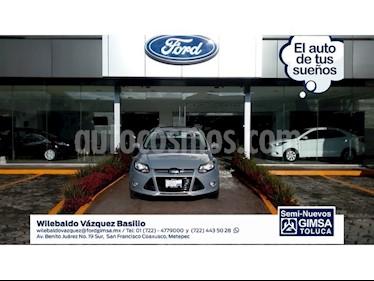 Foto venta Auto Seminuevo Ford Focus TITANIUM 4 PTAS TA (2014) color Plata precio $179,000