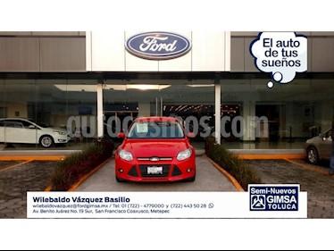 Foto venta Auto Seminuevo Ford Focus TREND 4-ptas (2014) color Rojo precio $148,000