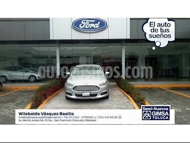 Foto venta Auto Seminuevo Ford Fusion 2.5 S I4 AT (2015) color Plata precio $195,000