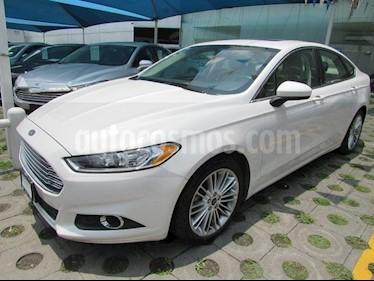 Foto venta Auto Usado Ford Fusion 2.5 SE I4 AT (2016) color Blanco precio $310,000