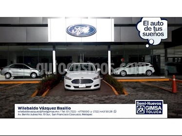 Foto venta Auto Seminuevo Ford Fusion 2.5 SE I4 AT (2013) color Blanco precio $165,000