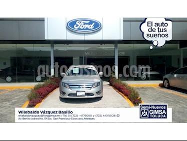 Foto venta Auto Usado Ford Fusion 4 PTS. SE, V6, TA, 6 CD, F. NIEBLA (2011) color Plata precio $136,000