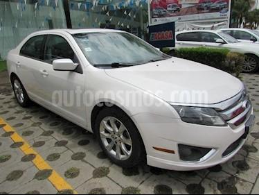 Foto venta Auto Usado Ford Fusion 4 PTS. SEL, V6, TA, CD, PIEL, QC, GPS, RA-17 (2011) color Blanco precio $155,000
