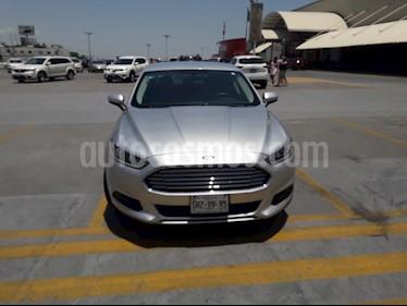 Foto venta Auto usado Ford Fusion S (2014) color Plata Estelar precio $199,000