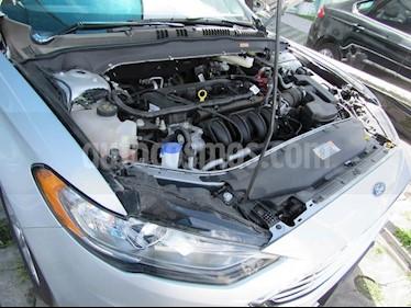 Foto venta Auto Usado Ford Fusion SE ADVANCE NAV 2.5L I4 (2017) color Plata precio $469,900