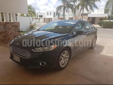 Foto venta Auto usado Ford Fusion SE Aut (2015) color Negro precio $225,000