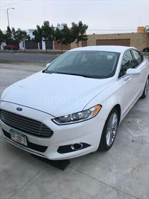 Foto venta Auto usado Ford Fusion SE Luxury Plus (2013) color Blanco Oxford precio $192,000