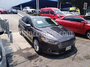 Foto venta Auto Usado Ford Fusion SE Luxury Plus (2015) color Gris precio $249,900