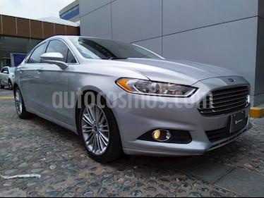 Foto venta Auto Seminuevo Ford Fusion SE Luxury Plus (2014) color Plata Estelar precio $220,000