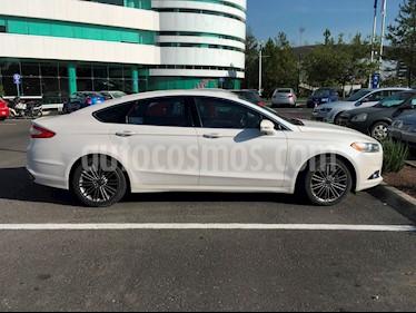 Foto venta Auto Seminuevo Ford Fusion SE Luxury (2013) color Blanco Platinado precio $198,000