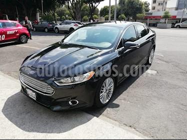 Foto venta Auto Usado Ford Fusion SE Luxury (2014) color Negro Profundo precio $225,000