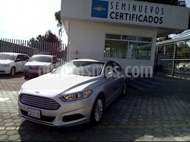 Foto venta Auto Usado Ford Fusion SE (2016) color Plata Estelar precio $298,500