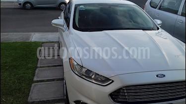 Foto venta Auto usado Ford Fusion SE (2014) color Blanco Platinado precio $180,000