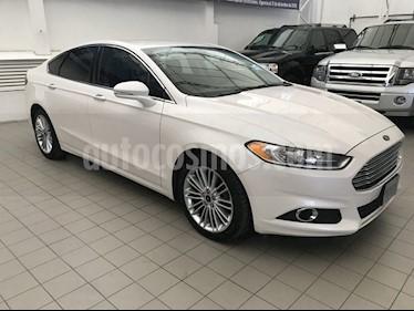 Foto venta Auto Seminuevo Ford Fusion Sedan SE LUX PLUS I4 GTDI (2014) color Blanco Platinado precio $245,000