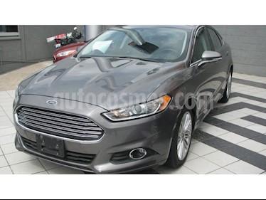Foto venta Auto Seminuevo Ford Fusion Sedan SE LUX PLUS I4 GTDI (2014) color Gris Nocturno precio $225,000