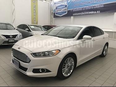 Foto venta Auto Seminuevo Ford Fusion Sedan SE LUX PLUS (2014) color Blanco precio $245,000