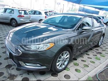 Foto venta Auto Usado Ford Fusion Sedan SE LUX (2017) color Grafito precio $399,000