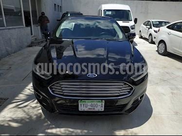 Foto venta Auto Seminuevo Ford Fusion Sedan SE LUX (2016) color Negro precio $280,000