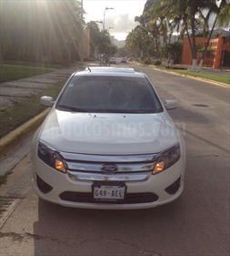 Foto venta Auto Seminuevo Ford Fusion SEL (2010) color Blanco Perla precio $130,000
