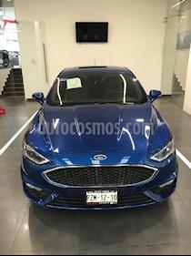 Foto venta Auto Usado Ford Fusion Sport (2017) color Azul precio $499,900