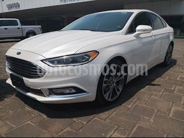 Foto Ford Fusion TITANIUM PLUS 2L GTDI usado (2017) color Blanco Platinado precio $395,000