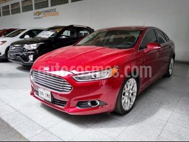 Foto venta Auto Usado Ford Fusion Titanium Plus (2014) color Rojo Tinto precio $245,000