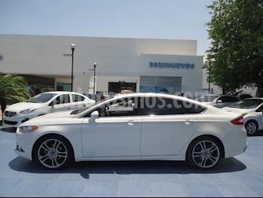Foto venta Auto Usado Ford Fusion Titanium Plus (2016) color Blanco Platinado precio $305,000