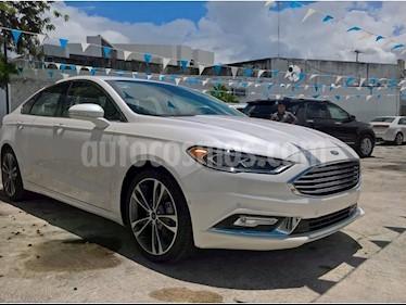 Foto venta Auto usado Ford Fusion Titanium (2018) color Blanco Platinado precio $510,000