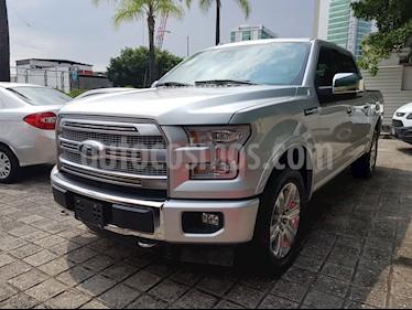 Foto venta Auto Seminuevo Ford Lobo Doble Cabina Platinum 4x4 (2017) color Plata Estelar precio $769,000