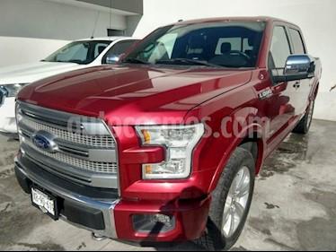 Foto venta Auto Seminuevo Ford Lobo Platinum Crew Cab 4x4 (2016) color Rojo precio $618,000