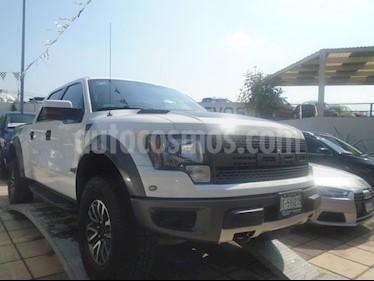 Foto venta Auto Usado Ford Lobo RAPTOR Doble Cabina SVT 4x4  (2013) color Blanco Oxford precio $525,000