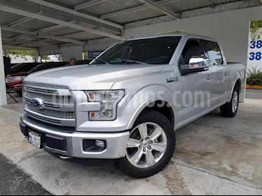 Foto venta Auto Usado Ford Lobo XLT 4x4 Cabina Media (2016) color Plata precio $610,000