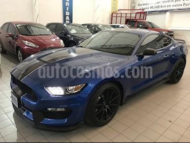 Foto venta Auto Seminuevo Ford Mustang 2 PTS. SHELBY GT, V8, TM6, PIEL, 6 CD, RA-19 (2017) color Azul precio $868,000
