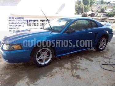 Foto venta Auto usado Ford Mustang Coupe V6 Aut (2000) color Azul Metalizado precio $60,000