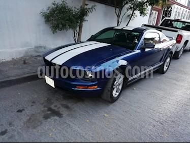 Foto venta Auto usado Ford Mustang Coupe V6 (2009) color Azul precio $129,500