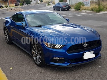 Foto venta Auto Usado Ford Mustang GT 5.0L V8 Aut (2017) color Azul precio $540,000