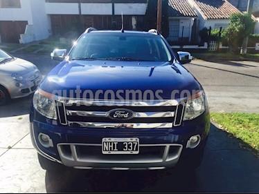 Foto venta Auto Usado Ford Ranger Limited 3.2L 4x4 TDi CD Aut (2013) color Azul precio $470.000