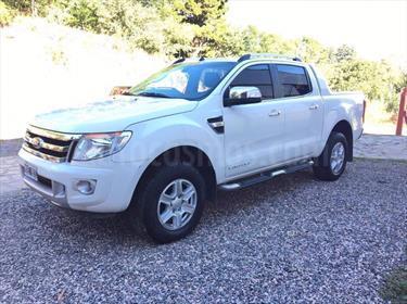 Foto venta Auto Usado Ford Ranger Limited 3.2L 4x4 TDi CD  (2014) color Blanco precio $590.000