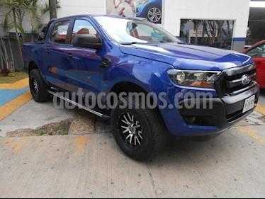 Foto venta Auto Seminuevo Ford Ranger XL  Crew Cab 4-ptas (2017) color Azul precio $350,000