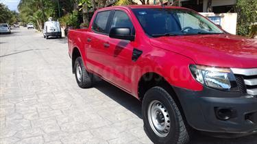 Foto venta Auto usado Ford Ranger XL Cabina Doble (2013) color Rojo precio $235,000