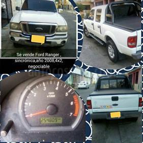 Foto venta carro usado Ford Ranger XL Sinc. Doble Cab. 4x2 (2007) color Blanco precio u$s4.100