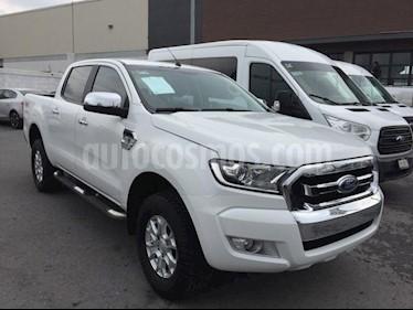 Foto venta Auto Seminuevo Ford Ranger XLT  Crew Cab 4-ptas (2017) color Blanco precio $470,000
