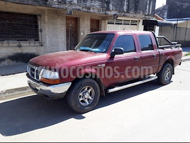 Foto venta Auto Usado Ford Ranger XLT 2.5L 4x2 CD (2000) color Bordo